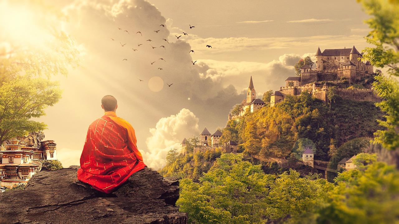 Meditating Guru